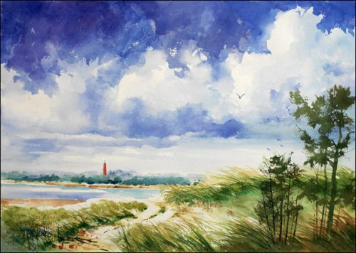 Daytona Lighthouse Original Painting