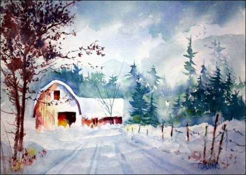 New Snow - Original painting