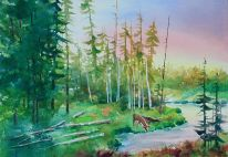 East Yellowstone Print